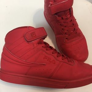 RED❗️ Fila shoes